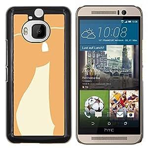 All Phone Most Case / Oferta Especial Duro Teléfono Inteligente PC Cáscara Funda Cubierta de proteccion Caso / Hard Case HTC One M9Plus M9+ M9 Plus // Smile