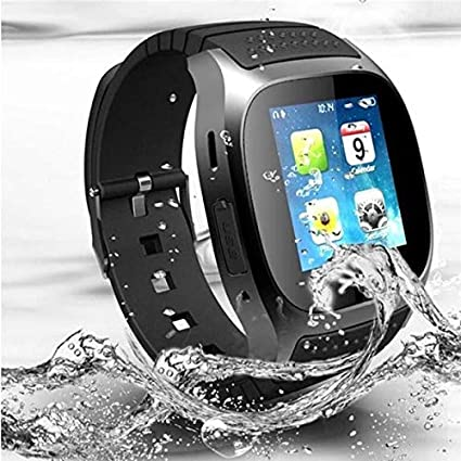 Amazon.com: LPENGBXB Newest Multilingual Bluetooth Smart Watch Reloj Inteligente for Android Phone Fashion Gifts (Color : Black): Electronics