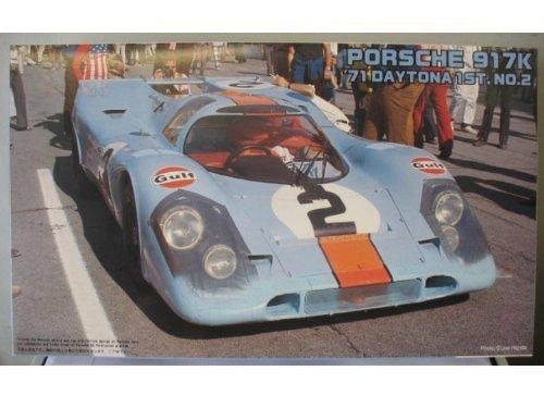 1/24 Porsche Car) 917K `71 Daytona Winner (Model Car) Porsche Fujimi HR-9 Historic Racing Car No.9 11aa6b