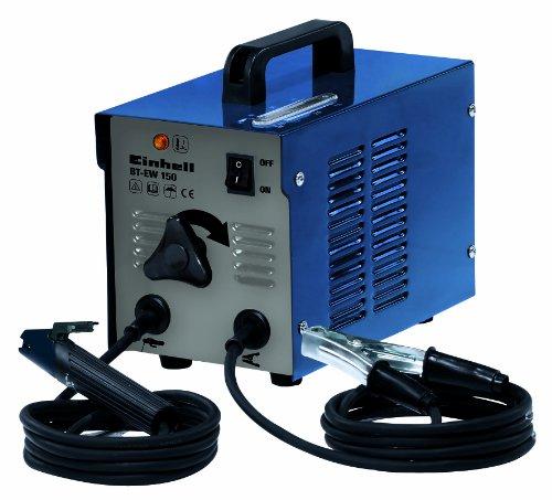 Einhell Elektroden Schweissgerät BT-EW 150 (80 A, 230 V, inkl. Masseklemme, Elektrodenhalter, Tragegriff, Thermowächter mit Kontrollleuchte
