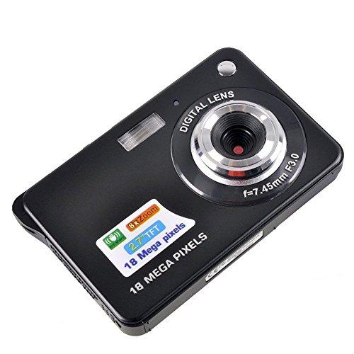 Fitiger 2.7 Inch 18MP TFT LCD HD Micro Mini Digital Camera,