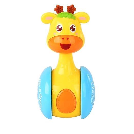 Juguetes para niños Jirafa Tumbler Doll Baby Toys, Cute ...
