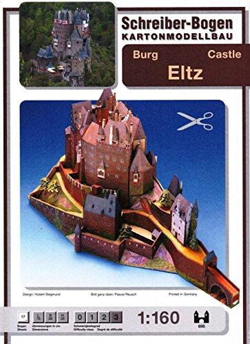 Aue Verlag Schreiber-Bogen Card Modelling Eltz Castle