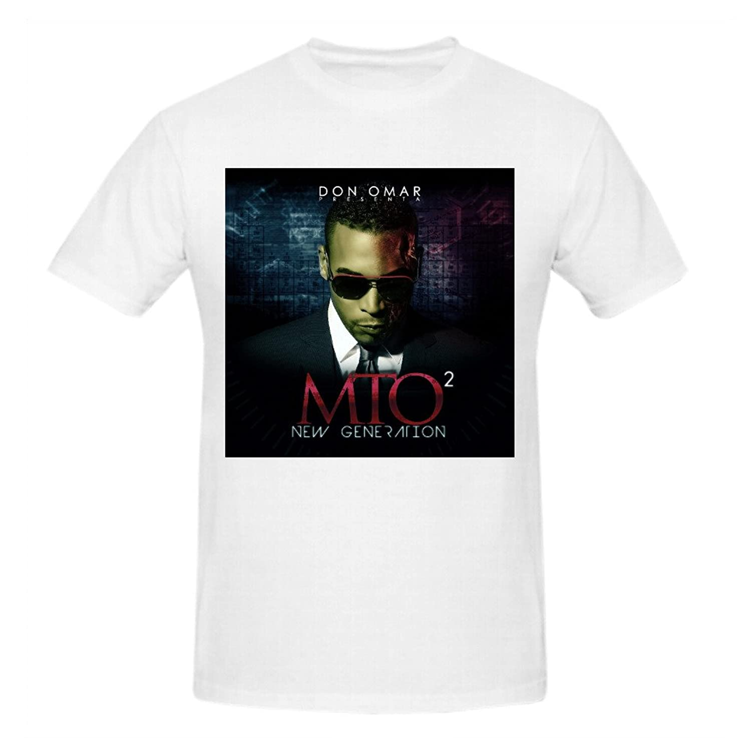 Don Omar Mto New Generation Funny Tee Shirts For Men
