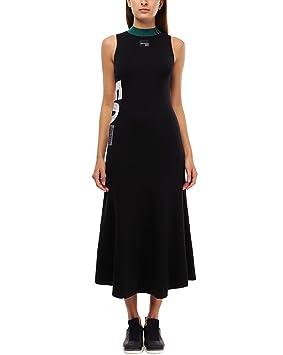 Adidas EQT Dress Vestido de Tenis, Mujer, Negro, 36