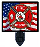 Firefighter Night Light - Fire Rescue - LED NIGHT LIGHT