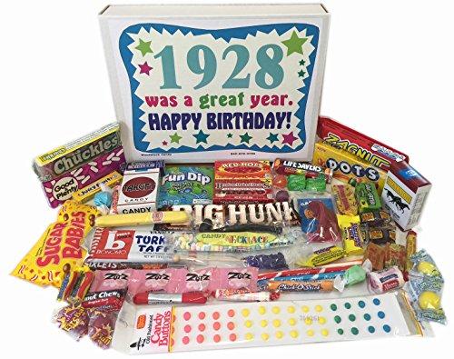 1928 90th Birthday Gift Box of Nostalgic Candy