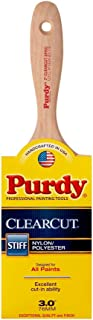 product image for Purdy 144380130 Clearcut Series Sprig Flat Trim Paint Brush, 3 inch