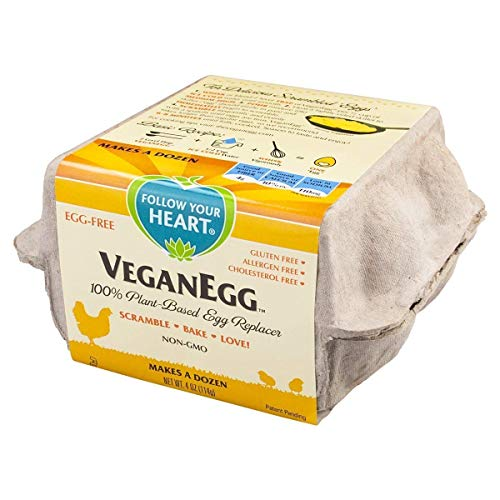 Follow Your Heart VeganEgg, 4-Ounce Carton (Pack of 2) (Best Egg Substitute For Omelette)