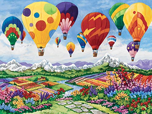 Ravensburger Spring is in The Air 1500 Piece Jigsaw Puzzle for Adults - Softclick Technology Means Pieces Fit Together Perfectly