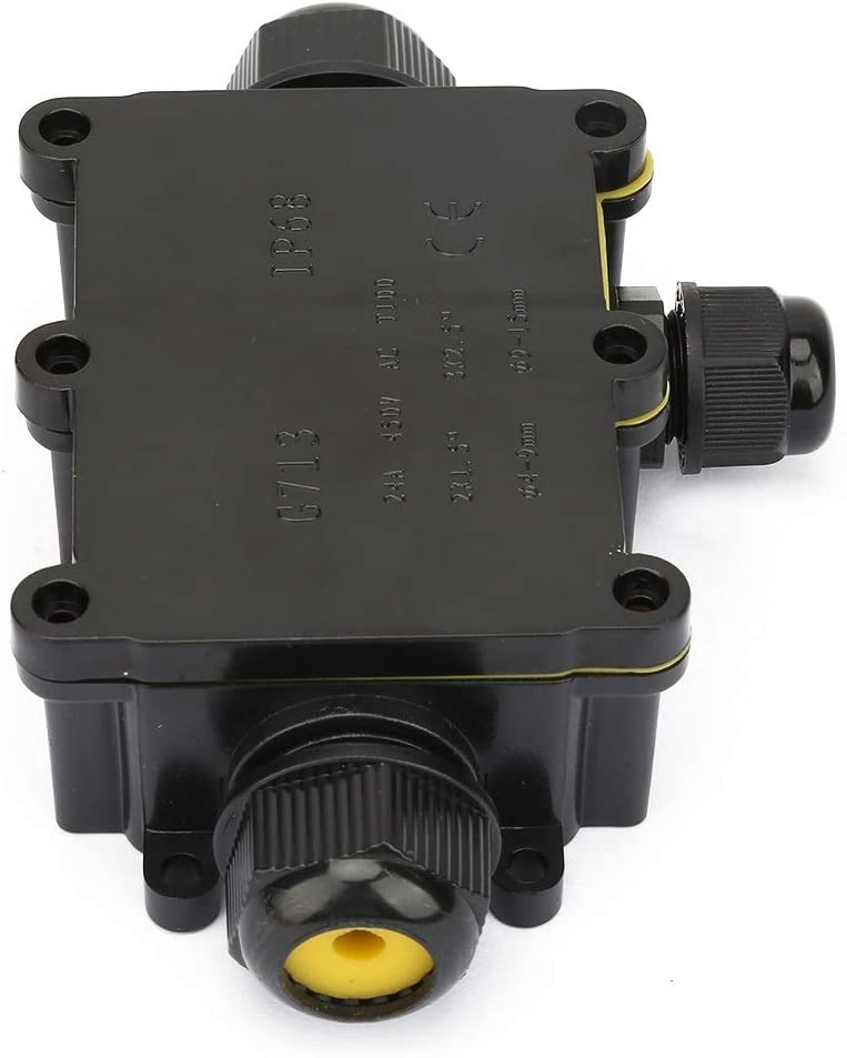 Three-Way Aeloa IP68 Waterproof Junction Box Electrical Enclosure Cable Connecting Terminal Block