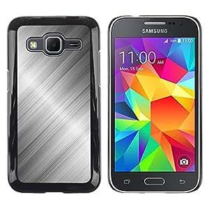 Paccase / SLIM PC / Aliminium Casa Carcasa Funda Case Cover para - Metal Aluminum Steel Shiny Reflective - Samsung Galaxy Core Prime SM-G360