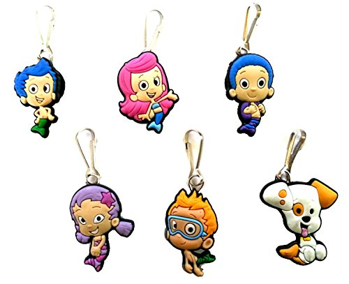 AVIRGO 6 pcs Zipper Pulls Charms for Jacket Bag Pendant Set # 19-2 by Hermes (Mr Crabs Costume)