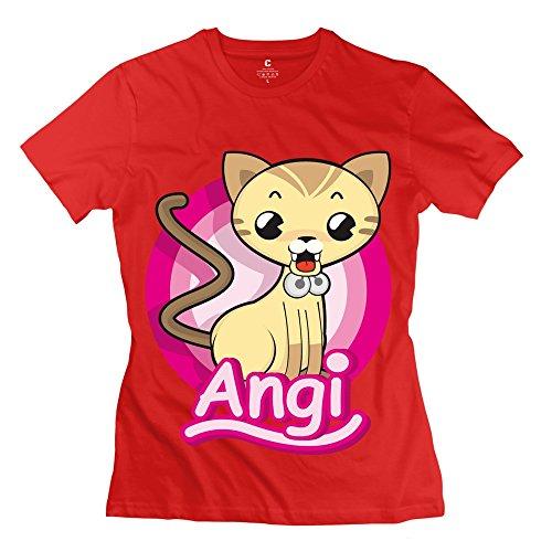 ZHIBAO Women's Angi Dog T-shirt XXL