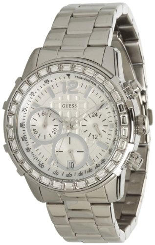 GUESS-Womens-U0016L1-Dazzling-Sport-Chronograph-Watch