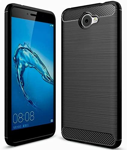 KuGi Huawei Nova Lite /Nova Lite Plus Cover, Protettiva Case Cover Custodia in Silicone per Huawei Nova Lite /Nova Lite Plus Smartphone (Nero)