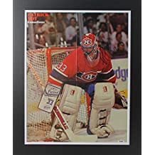 Patrick Roy Signed Photograph - & Matted Magazine Page Poster #W83770 - PSA/DNA Certified - Autographed NHL Photos