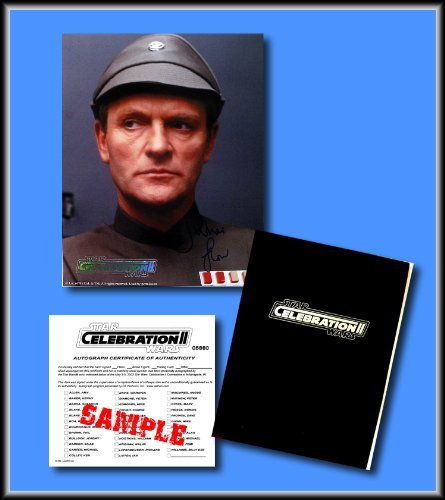 STAR WARS Hand Signed Autographed Photo of JULIAN GLOVER as GENERAL VEERS - from the Star Wars Celebration II Convention