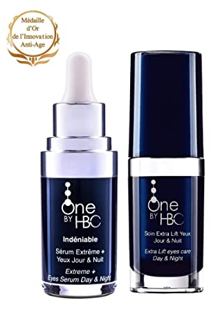 One by HBC Set Indeniable Extreme Serum Augen Tag und Nacht