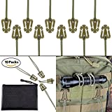 Best Clip Pouches - Pack of 10 Tactical Gear Clip Molle Web Review