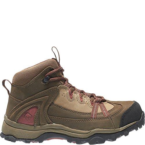 Wolverine Women's W02210 Maggie Safety Toe Work Boot, Brown, 7 M US
