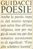 img - for Poesie book / textbook / text book