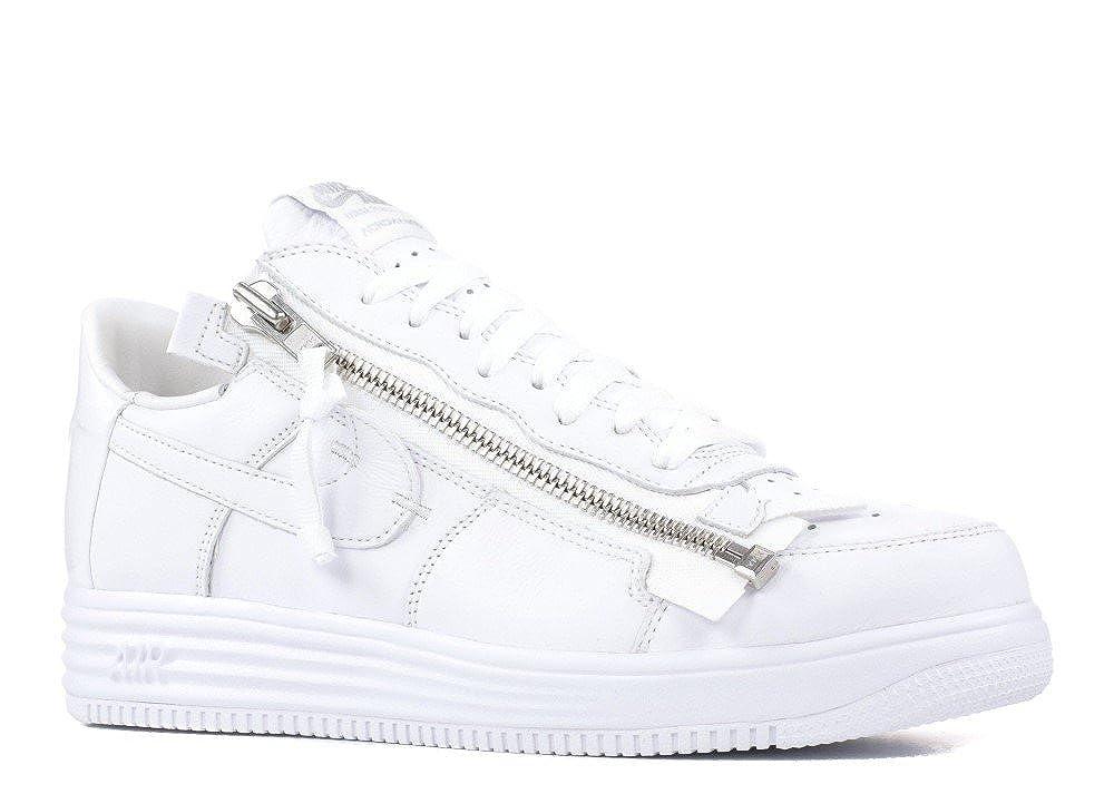 new style 27ee0 0937f Amazon.com  NIKE Mens Lunar Force 1 Acronym 17 White Leather  Basketball