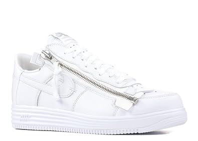 c8c6f1fcf8ca NIKE Mens Lunar Force 1 Acronym  17 White Leather Size 8