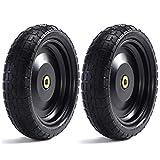 """Steerling Tire Co. 13"""" Flat-Free Wheelbarrow"""