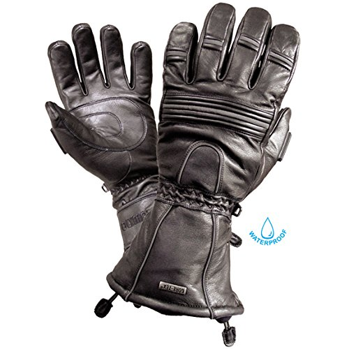 (Olympia GT 4150 Mens All Season Black Lightweight Gloves Large)
