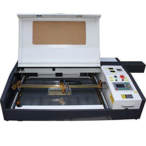 TEN-HIGH 4060 400x600mm 15.7x23.6 inches 60W small desktop laser engraving cutting machine, Offline version.