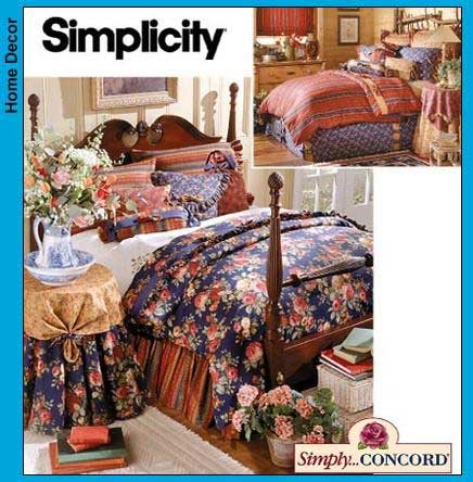 SIMPLICITY HOME DECORATING PATTERN 8347