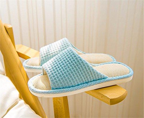 cotone in autunno B letto paio uomini piano e Arredamento donne inverno camera cotone YMFIE toe Casa e primavera un pantofole da di pantofole La di in e IqwnzUBtFx