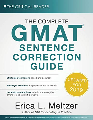 Pdf Test Preparation The Complete GMAT Sentence Correction Guide