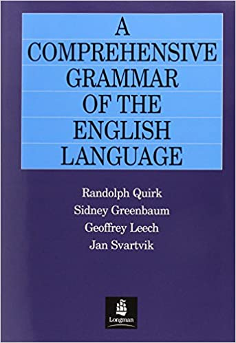 A Comprehensive Grammar of the English Language (General Grammar)