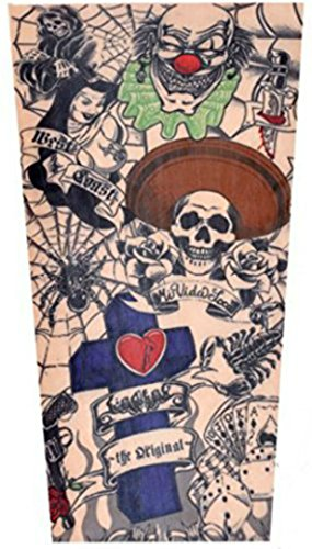 Toddler Tattoo Sleeves (x2) - Coolest Neoprene Tattoo Sleeves for Sun Protection and Being Tough (Old School Cool)
