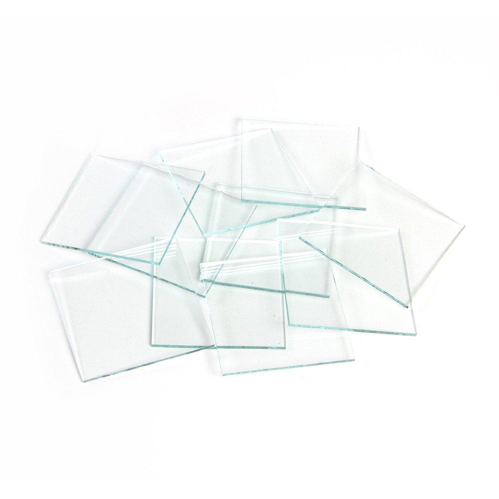 United Scientific Glass Streak Plates, Pack of 12 by ETA hand2mind