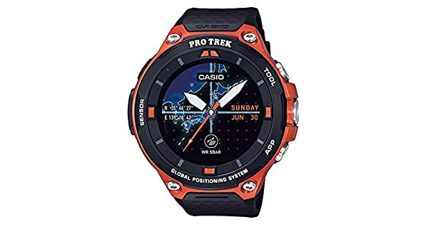 Amazon.com: CASIO Smart Outdoor Watch ProTrek Smart GPS ...