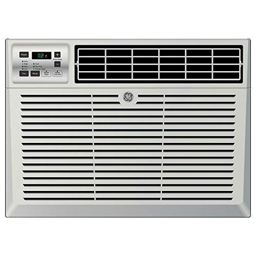 "GE AEM10AX 22"" Window Air Conditioner with 5,200 Cooling BTU, Energy Star Qualified, in Light Cool Gray"