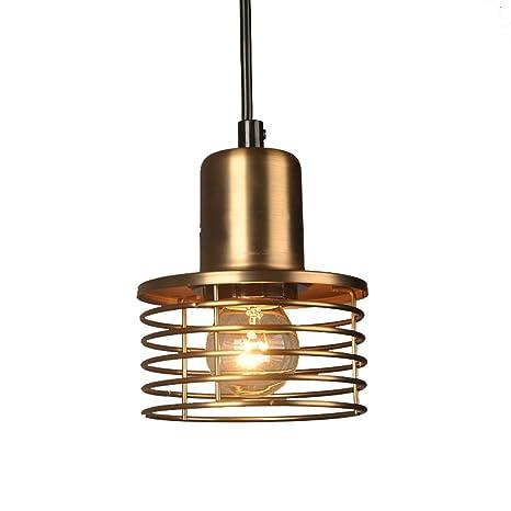 Lámpara colgante VINTAGE creativos - Lámpara de techo plafón ...