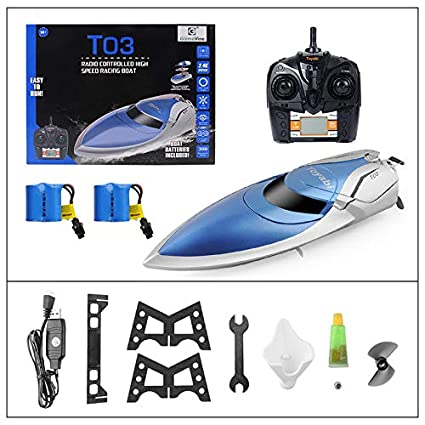 Buy Rc Boat Pool Toys High Speed 20mph Remote Control