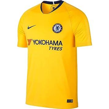 00249cdfa Nike 2018-2019 Chelsea Away Football Soccer T-Shirt (Kids): Amazon ...