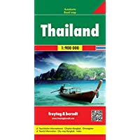 Thailand, Autokarte 1:900.000, freytag & berndt Auto + Freizeitkarten