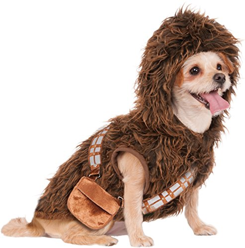 Rubie's Star Wars Chewbacca Hoodie Pet Costume, Small