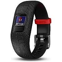 Garmin GM-010-01909-67 Vivofit Jr. 2 Spider-Man Adjustable Kids Activity Tracker, Black