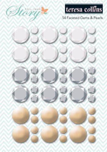 Tell tu Historia Teresa Collins Designs Caras similares a con Cristales engarzados