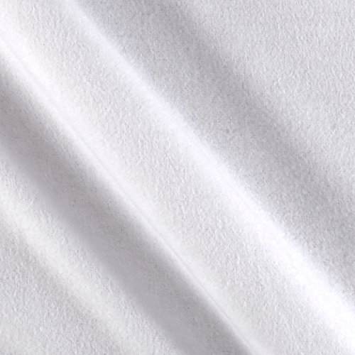 108' Wide Quilt Backing (Essentials 108in Wide Flannel Solids White Fabric By The Yard)