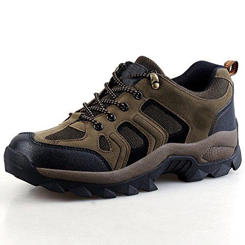 Senderismo Zapatos De Primavera O Invierno Del Verano De Los Hombres Al Aire Libre Respirables CHT De Varios Tamaños Multi-colores Brown