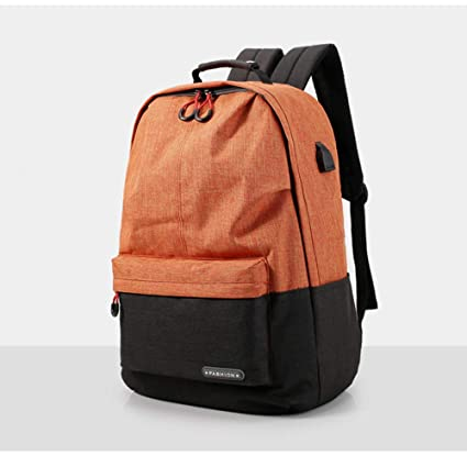 05b252fd30 Laptop Backpack Men s and Women s Business Travel Computer Backpack College  Bag Fashion Waterproof Retro Backpack with