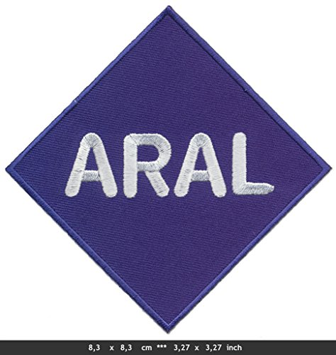 aral-iron-sew-on-cotton-patch-gasoline-lubricants-oil-racing-motor-sport-by-rsps-embroidery-n-decals